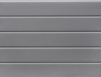 Ezüst(RAL 9006), keskenybordás, stukkós felület