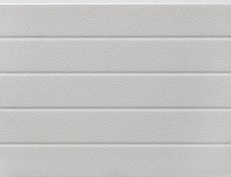 Fehér(RAL 9002), keskenybordás, stukkós felület